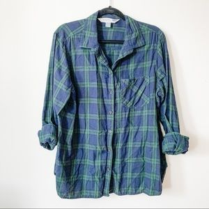 Plaid Button Down // Old Navy